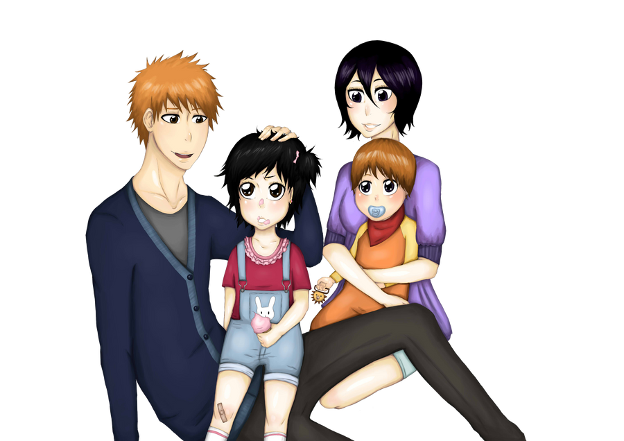 Ichigo And Rukia Kids | www.imgkid.com - The Image Kid Has It!