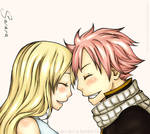 Just Natsu and Lucy