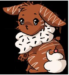 Little Chocolate Cybunny by Precious-Love