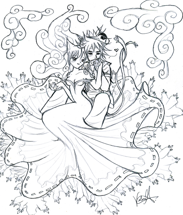 OKAMI: My Goddess.. by Precious-Love