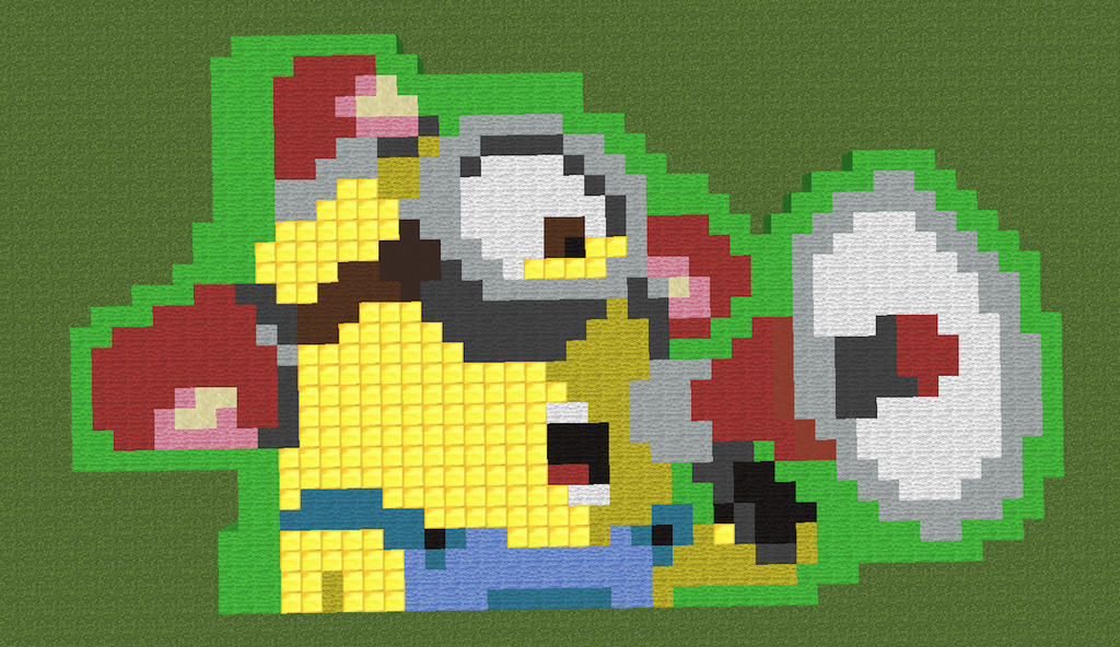 Minecraft Minion by 01MinecraftFan