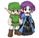 Link and Anne Gaia Avatars by pinkfloydmadchen