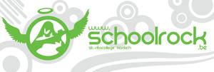 schoolrock sticker
