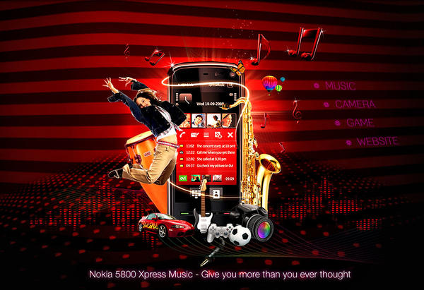 Nokia 5800 Express Music by Oceandeep76