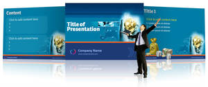 Business Powerpoint template by Oceandeep76