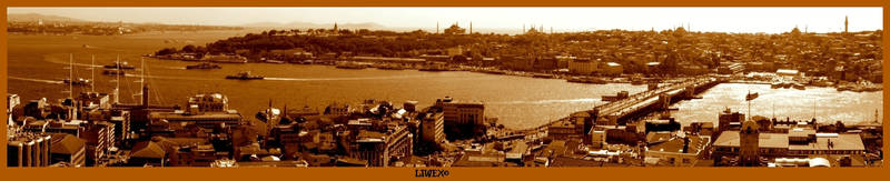 Istanbul - Golden Horn by LIWEX