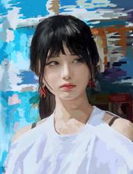 Girl by marykarara