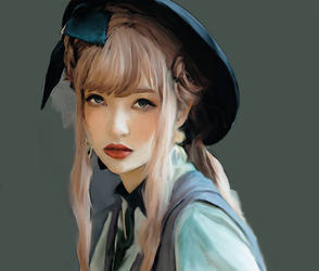 girl 3 by marykarara