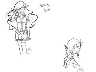 Ariel's Aria WIP by spasmatic-irishlover