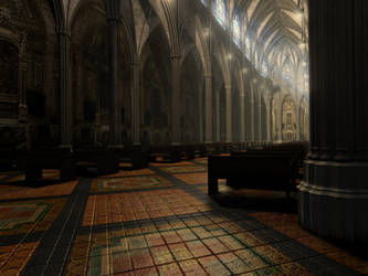 Cathedral 2 by cidalia3D
