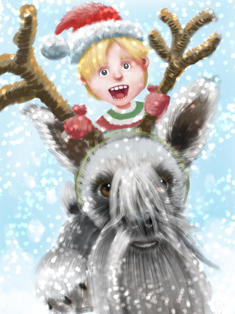 Christmas Card 2016 by papalati