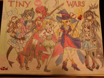 Tinywars Fanart Contest Entry 2016 by tzubright