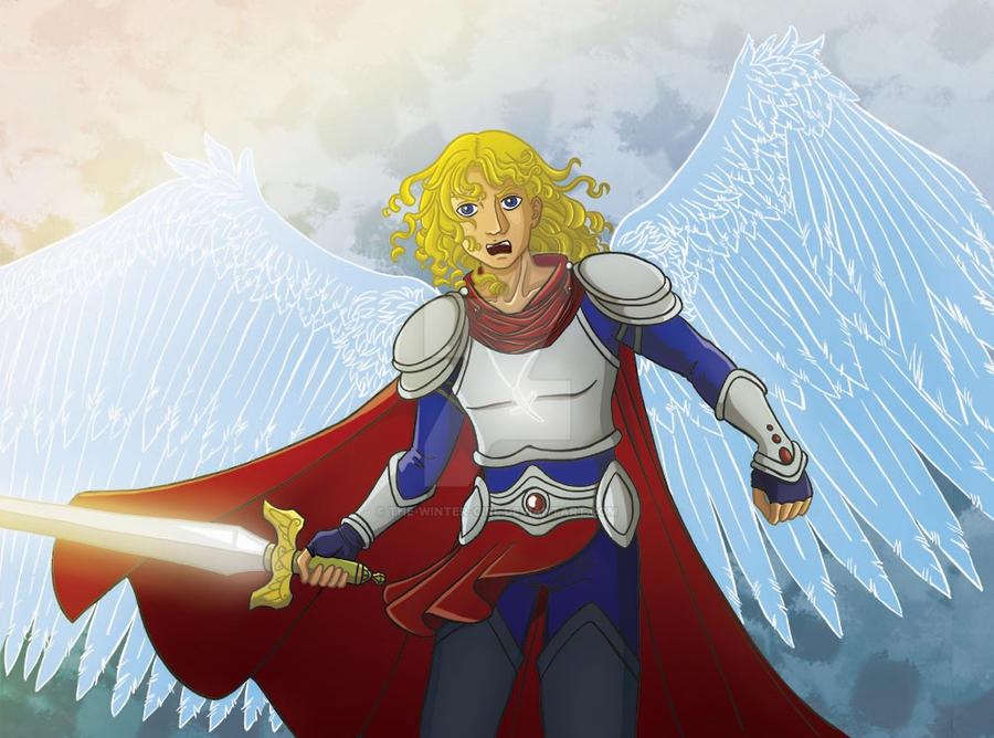 Archangel Michael by the-winter-girl on DeviantArt