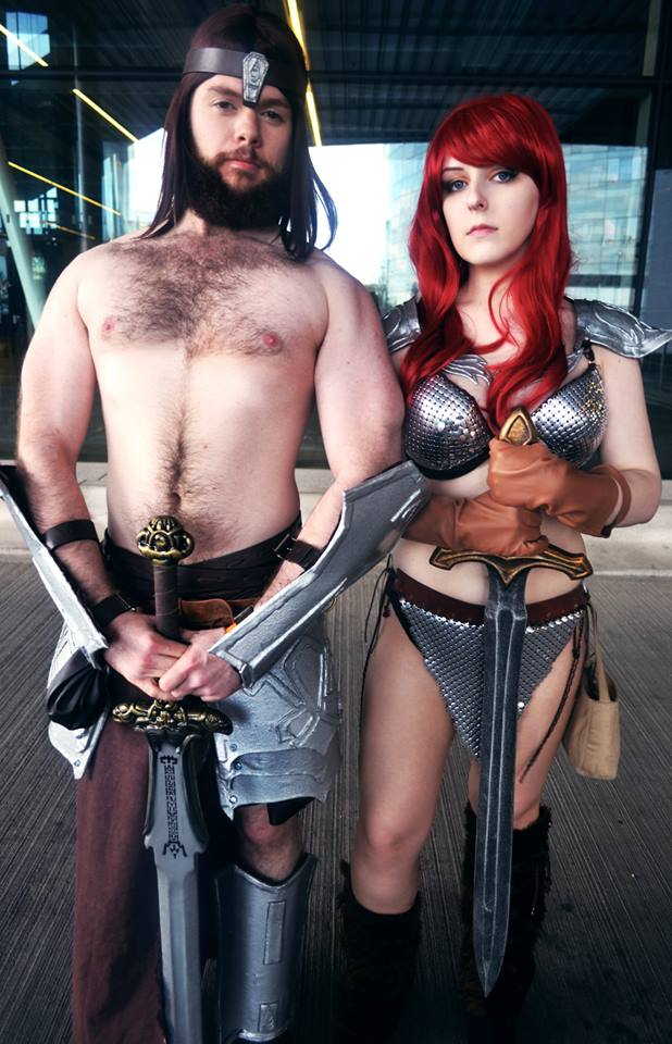 C >> Red Sonja and Conan by SafiBear on DeviantArt