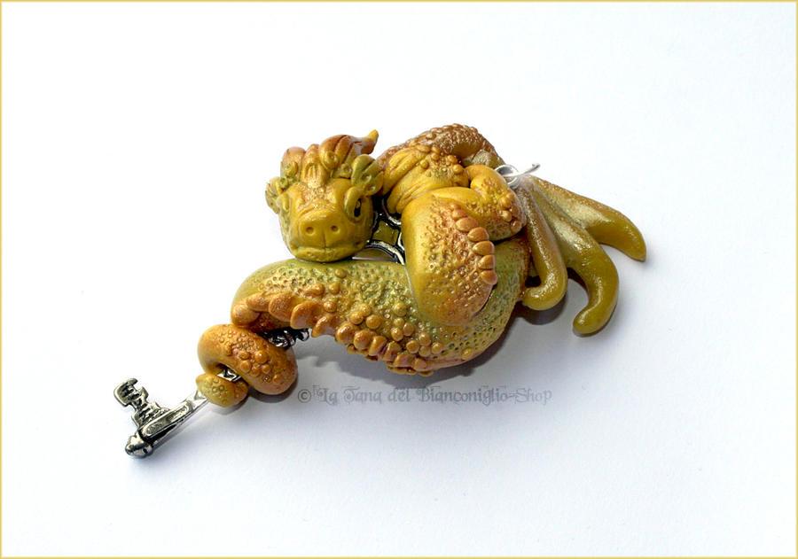 Fimo Dragon by tanadelbianconiglio