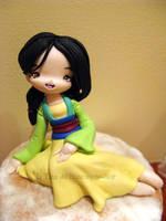 Mulan clay by tanadelbianconiglio
