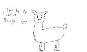 Llama by Fwaygo