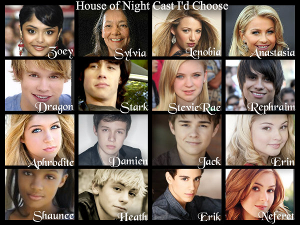 House Of Night Cast By GarciaPenelope ...