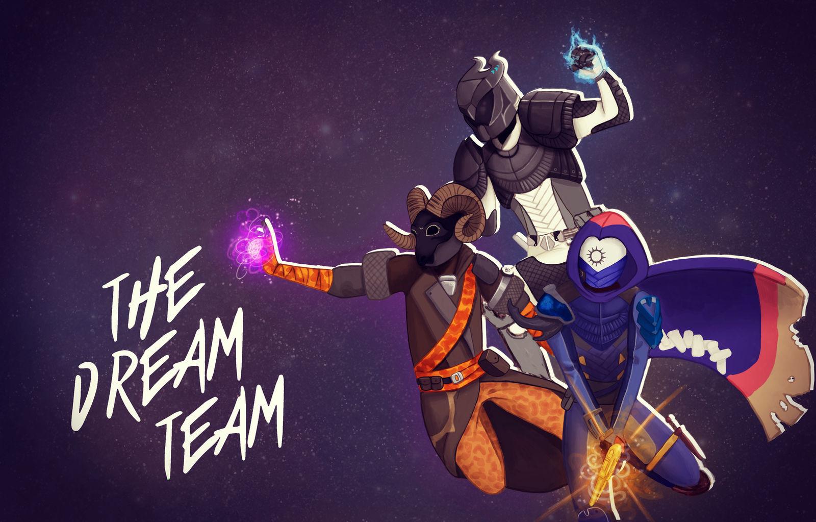 The Dream Team by 96Sorahime