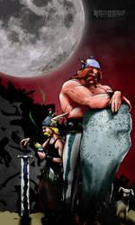 true asterix and obelix by 0nesto