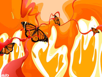 Butterflies by dragonsyth1