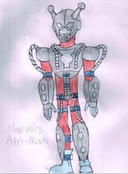 Marvel's Ant-Man (Hank Pym) by LawfulStudios9646