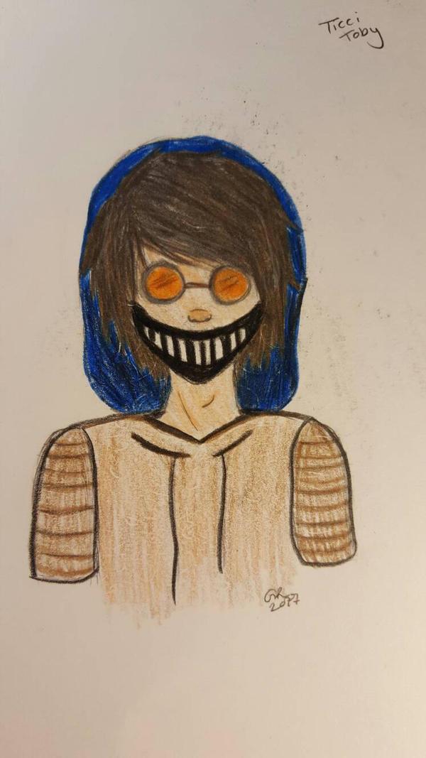 My favorite creepypasta - Ticci Toby  by Forwardskies777