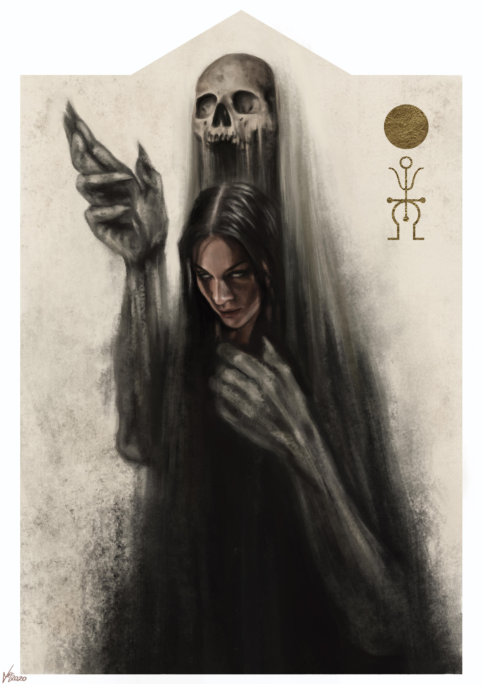 The Maiden becomes Death - August 2020