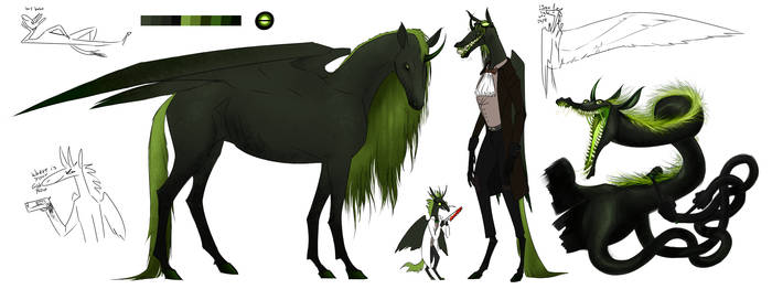 noodle horse by DemonsHeir