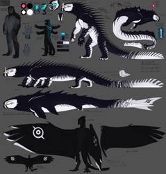 Lizard ref by DemonsHeir