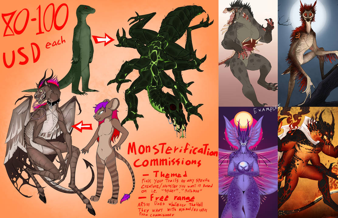 Monsterfy Commissions