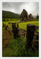 Mountain Farm by collectiveone