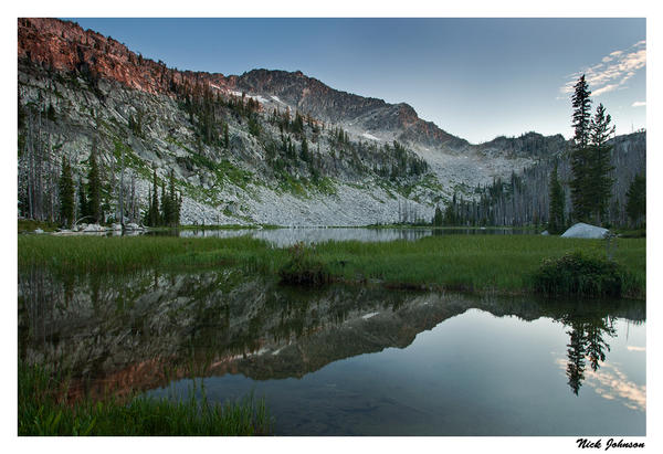 Rain Mountain Reflection by collectiveone