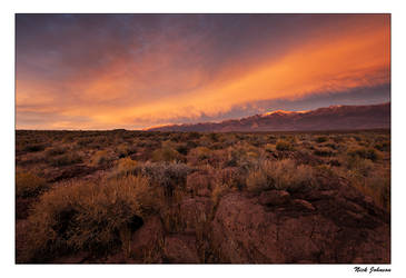 Volcanic Tablelands Sunset by collectiveone