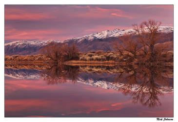 White Peak Reflection by collectiveone