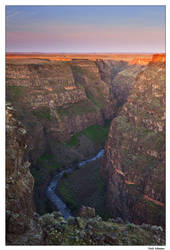 Bruneau Canyon Sunrise by collectiveone