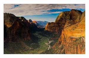 Zion Canyon View by collectiveone