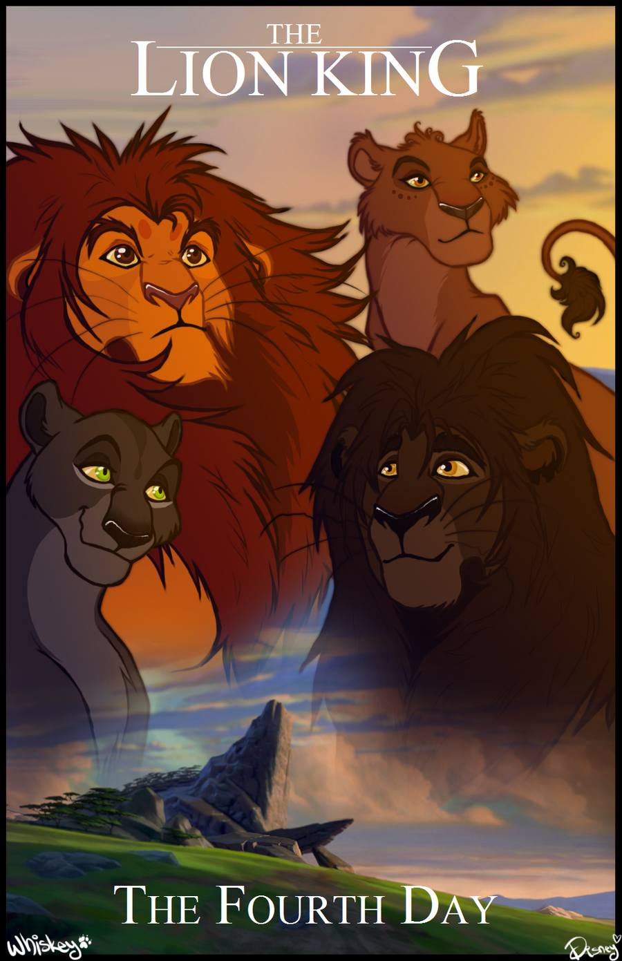 The Lion King ~ The Fourth Day by ArmanaTLK on DeviantArt