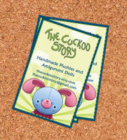 The Cuckoo Story business card by CarinaReis
