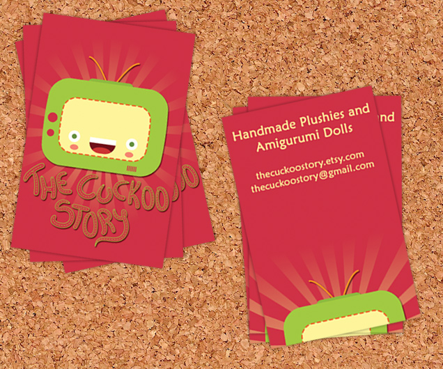 Cuckoo Story business card 2 by CarinaReis