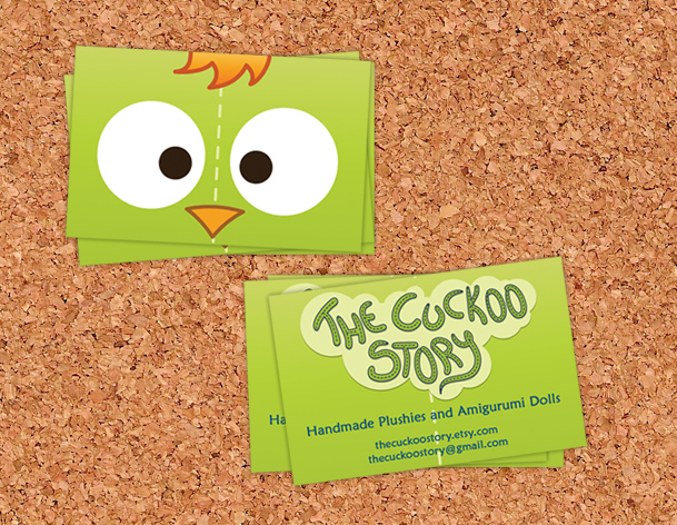 Cuckoo Story business card 3