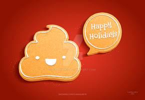 Gingerbread turd
