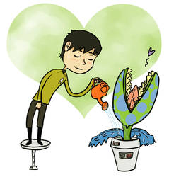 Sulu heart Plant by OCaptainMyCaptain