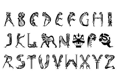 Calligraphy: Lion Dance