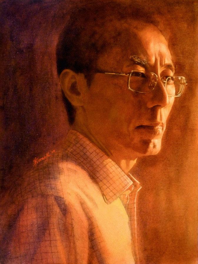 A Portrait by Wolfie-chama