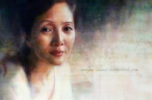 A Portrait II by Wolfie-chama