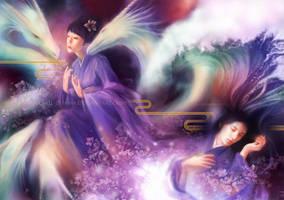 Sakura's Prayer by Wolfie-chama