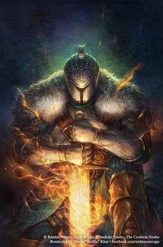 Dark Souls Comic: Issue 2 Cover