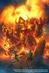 Dark Souls Comic: Issue 4 Cover