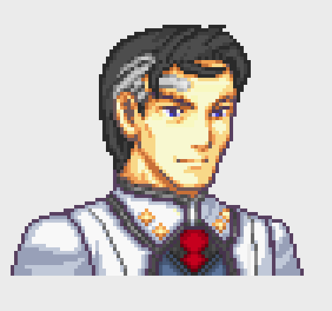 James Ironwood pixel by Ronku